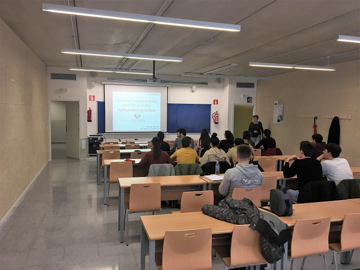 Alberto Esteban acústica ruido charla UPV EHU