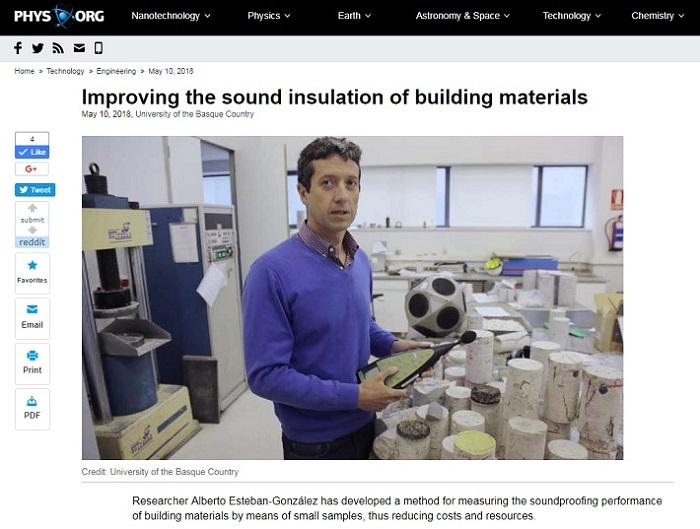 concrete slag noise insulation